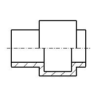 grundlagen zum technischen zeichen schnitte. Black Bedroom Furniture Sets. Home Design Ideas